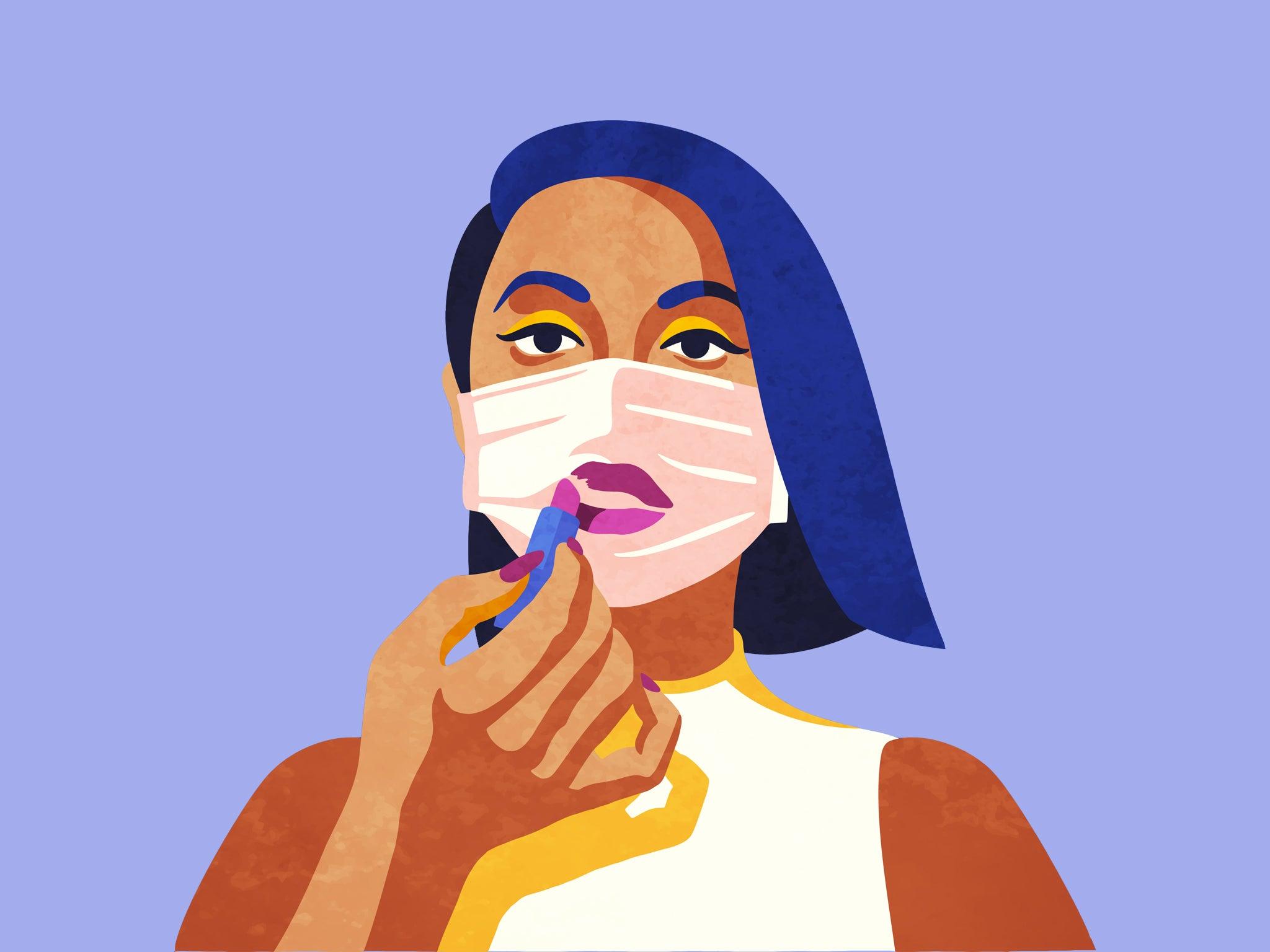 chăm sóc da mặt khi đeo khẩu trang
