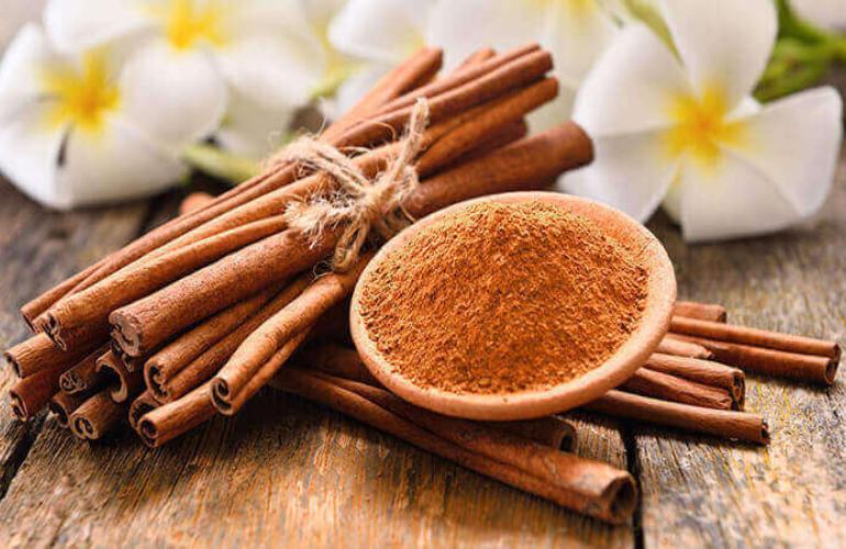 chống rụng tóc từ quế, dầu oliu và mật ong