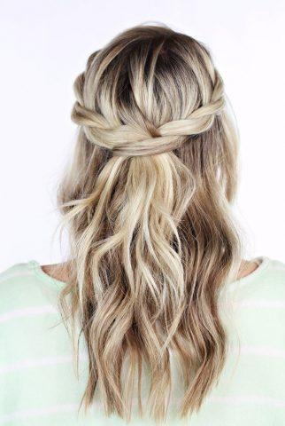 Kiểu tóc đẹp Crown Twisted Fantastic