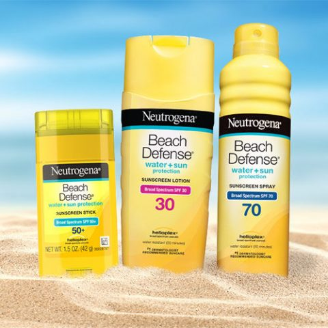Xịt chống nắng body đi biển Neutrogena Beach Defense Sunscreen Body Spray SPF 70