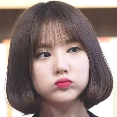 các kiểu tóc ngắn Hàn Quốc đẹp cho mặt tròn