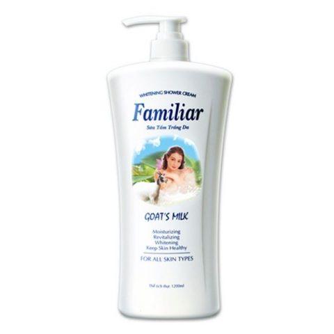 Sữa tắm trắng da hàng ngày Familiar (sữa dê Familiar)