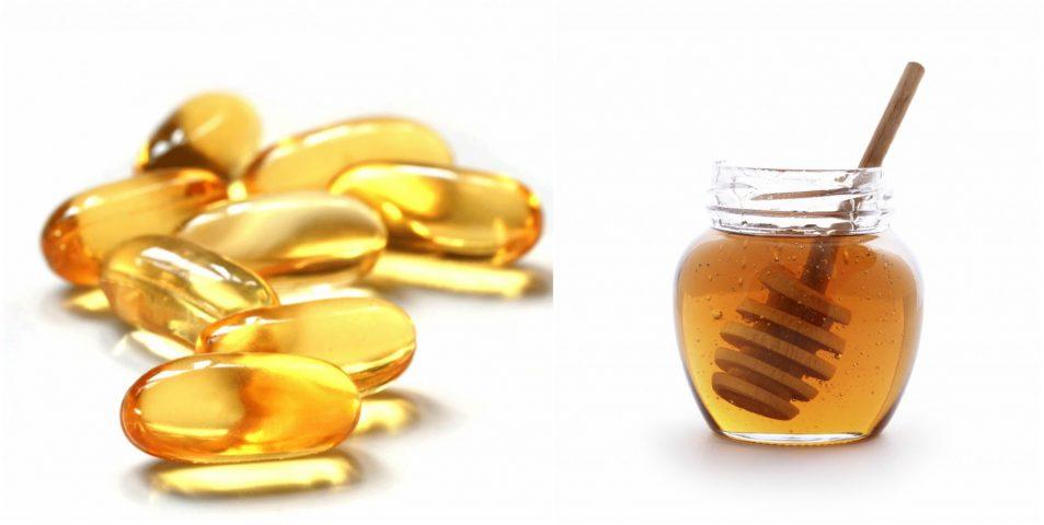 mặt nạ mật ong và vitamin e