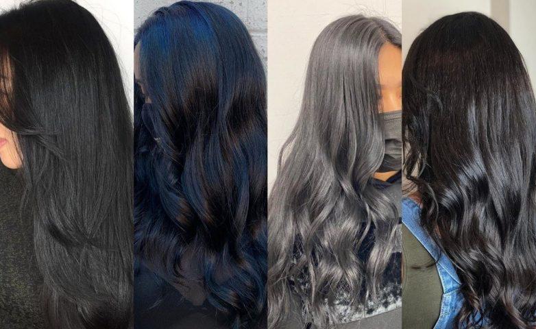 Bảng màu nhuộm tóc đen