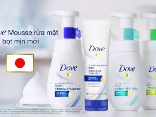 Review Sữa Rửa Mặt Dạng Bọt Dove Tinh Chất Serum đang được yêu thích nhất tại Nhật Bản