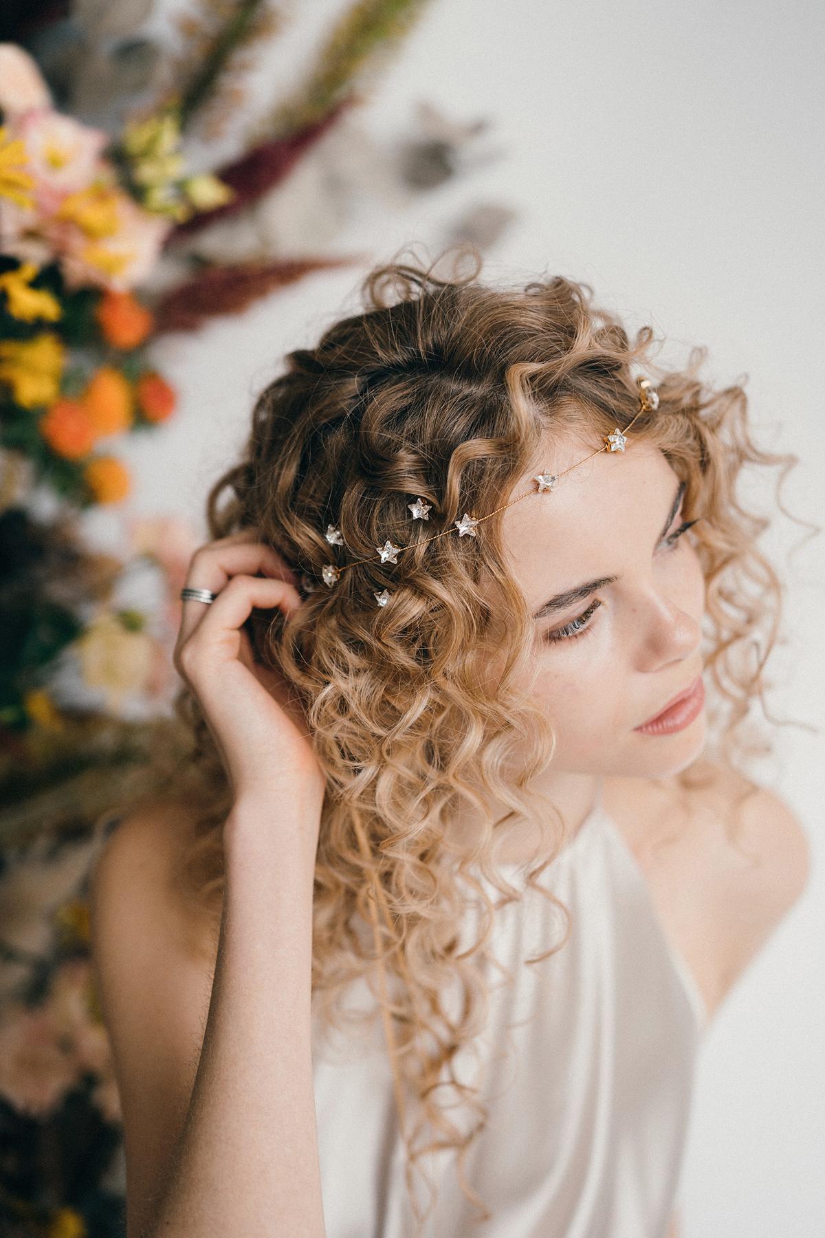 kiểu tóc cô dâu