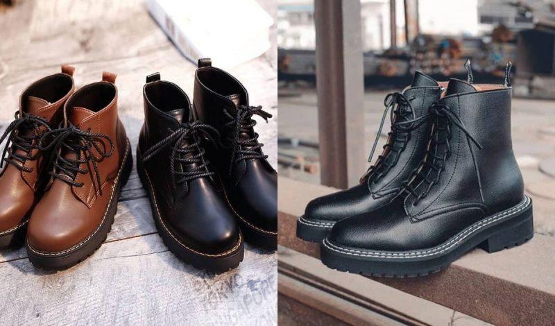 """Combat boots – đôi giày chất lừ """"gây thương nhớ"""" nhất 2020, bạn đã sở hữu chưa?"""