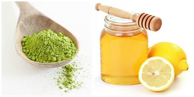 Cách trị mụn cám hiệu quả với trà xanh, mật ong và chanh