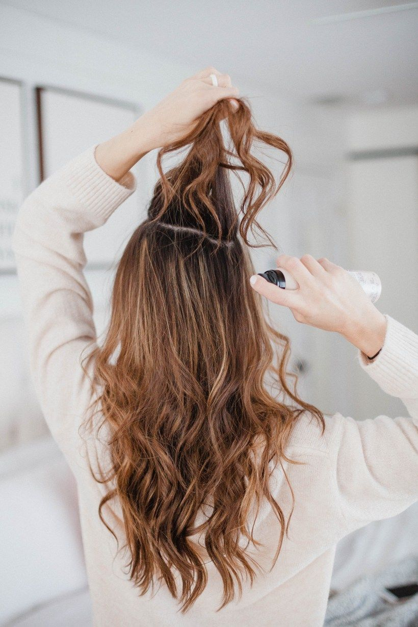 kiểu tóc đơn giản cho tóc dài