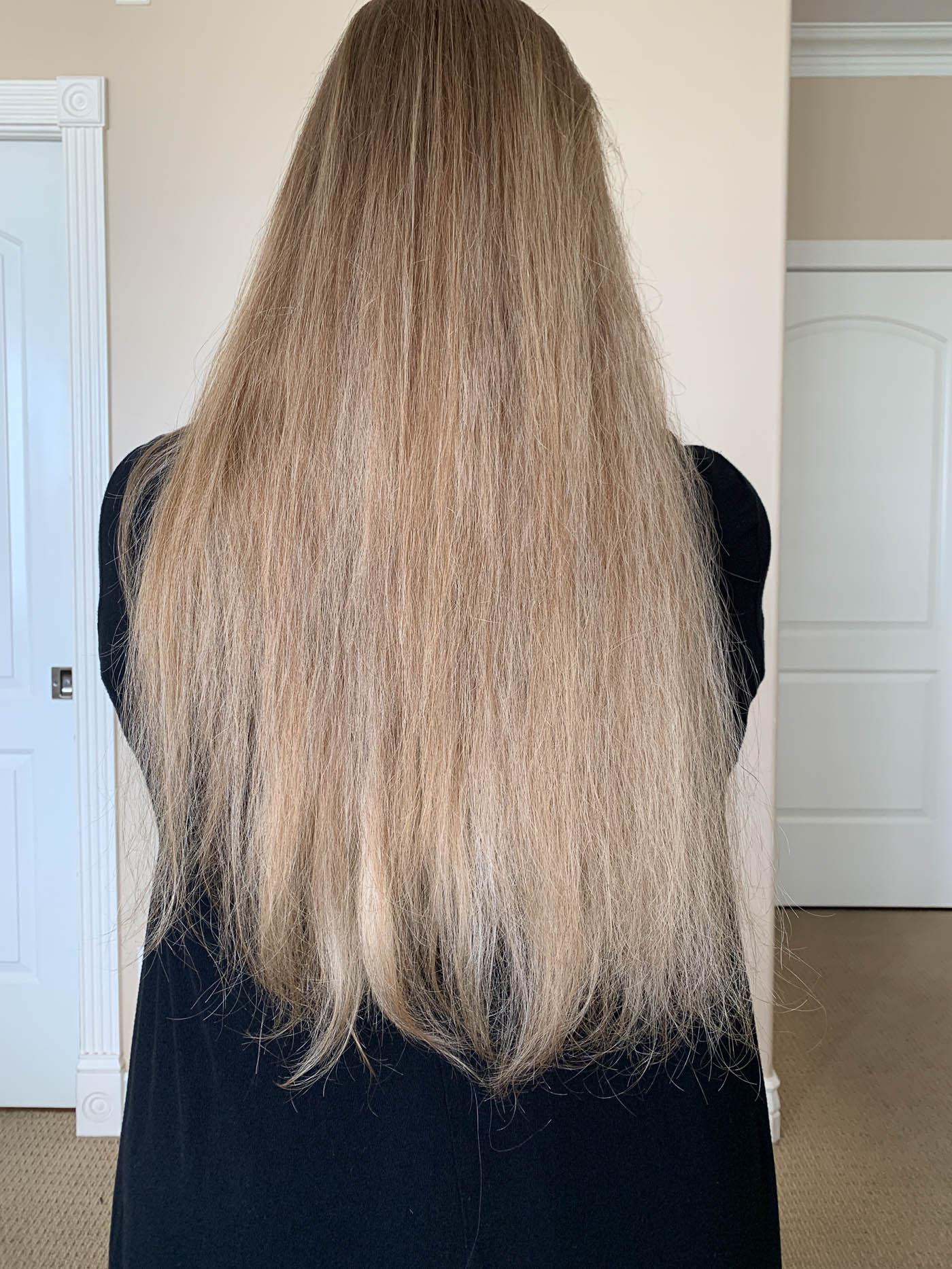 tóc hư tổn nặng