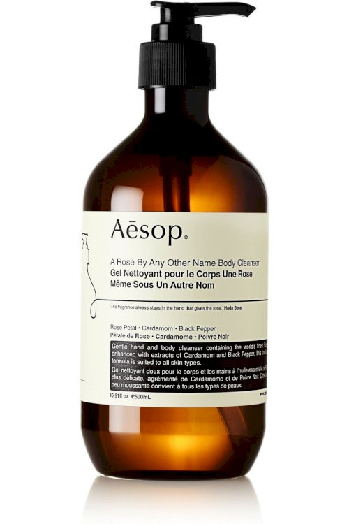 Sữa tắm dưỡng ẩm dạng gel Aēsop A Rose by any other name body cleanser