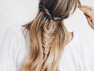 Tóc buộc kết hợp tóc tết – Gấp đôi xinh đẹp cho ngày xuân thêm rạng rỡ