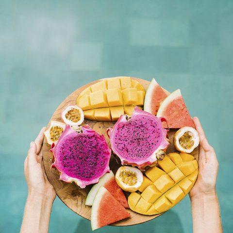 Ăn nhiều rau quả, thực phẩm giàu chất đạm tăng hiệu quả giảm cân tại nhà