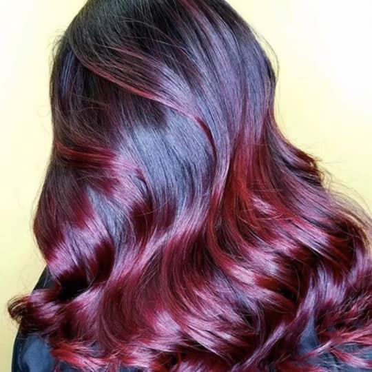 màu nhuộm đỏ