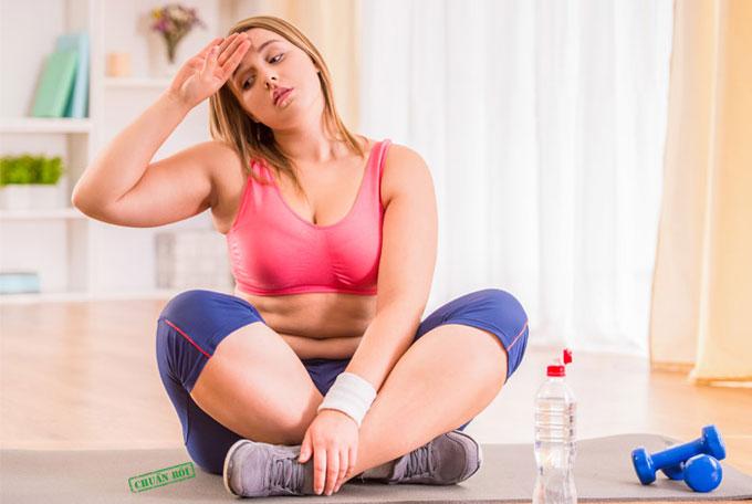 giảm cân không thành công