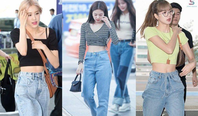 12 Outfit sành điệu cùng quần jean ống rộng cho các cô nàng thời trang