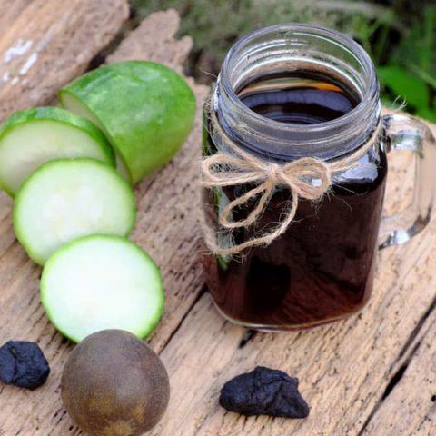 trà bí đao và hạt chia giảm cân cấp tốc