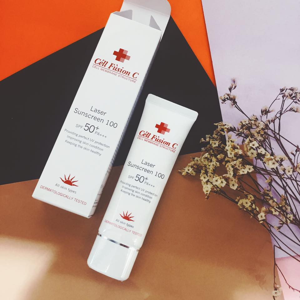 Cell Fusion C Laser Sunscreen 100 SPF50+