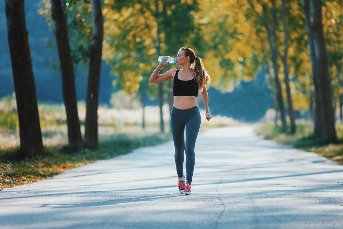 Điều chỉnh tốc độ đi bộ tránh việc thở dốc