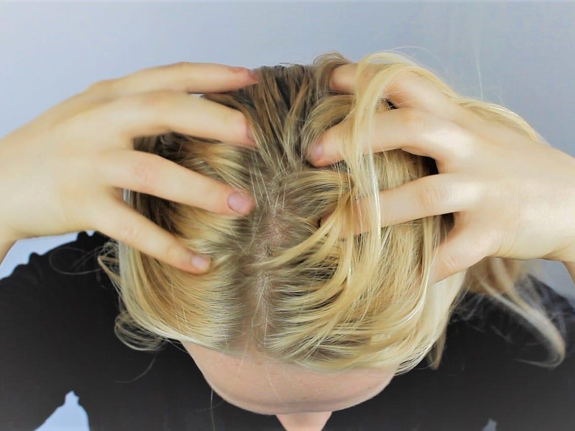 Trị gàu, làm sạch da đầu
