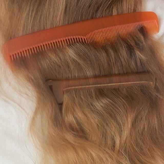 Chải mượt tóc