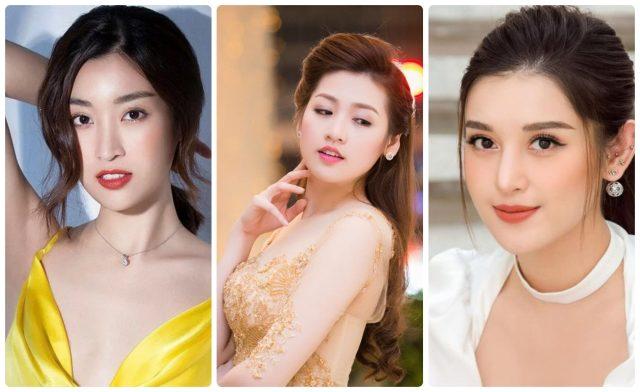 Học lỏm tuyệt chiêu chăm da mặt căng mướt, trắng mịn của dàn Hoa hậu, Á hậu Việt