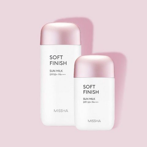 Kem chống nắng cho da khô Missha All Around Safe Block Soft Finish Sun Milk SPF50
