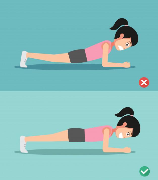 tập plank