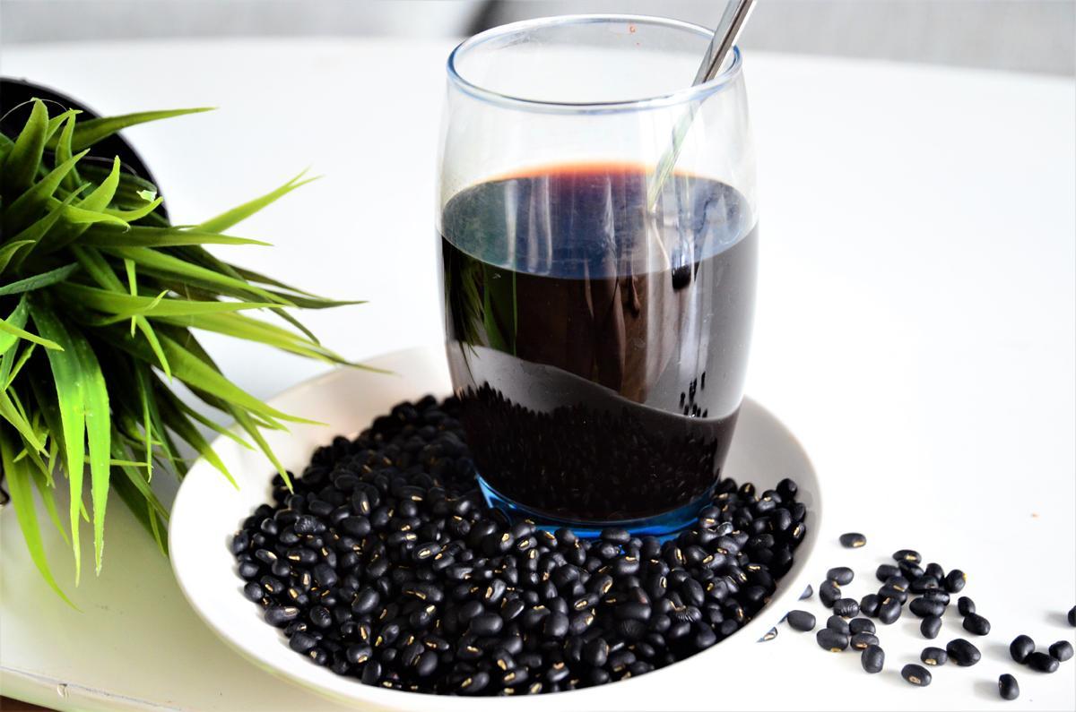 Nước đậu đen rang