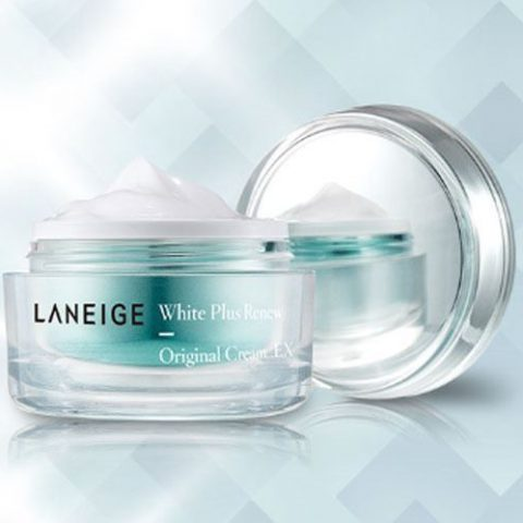Kem dưỡng trắng cho da dầu mụn Laneige White Plus Renew Original Cream EX từ Hàn Quốc