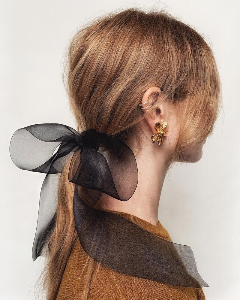 phụ kiện tóc Ruy-băng
