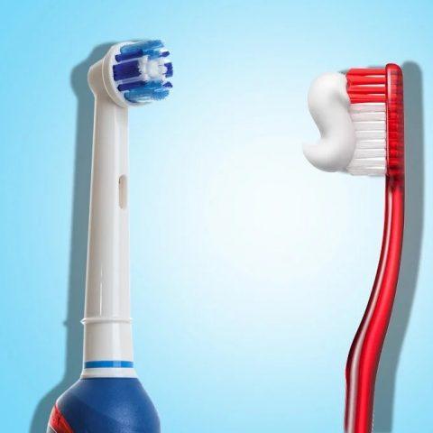Chuyển sang bàn chải răng điện giúp răng mau trắng hơn