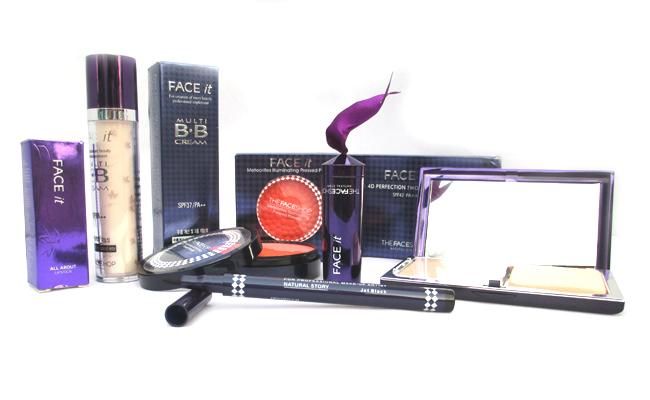 17 dụng cụ cần phải có trong bộ trang điểm cơ bản cho người mới Trọn bộ trang điểm 5 món của The Face Shop