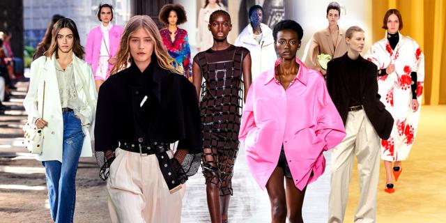 Cập nhật ngay 12 Xu hướng thời trang nổi bật từ sàn Runways mùa xuân năm 2021