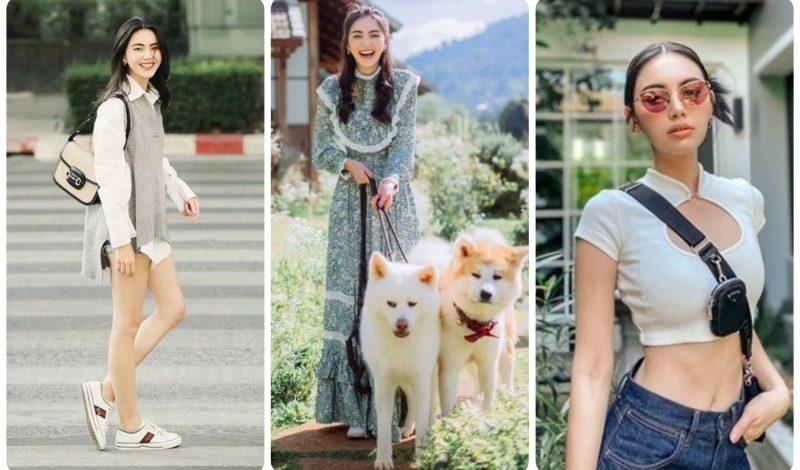 """Thời trang xuống phố của """"ma nữ đẹp nhất Thái Lan"""""""