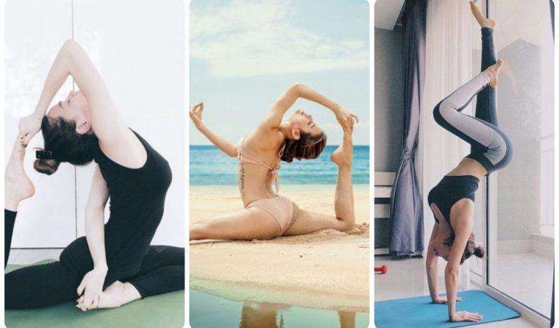 Há hốc mồm trước loạt ảnh sao Việt chinh phục những tư thế yoga 'khó nhằn'