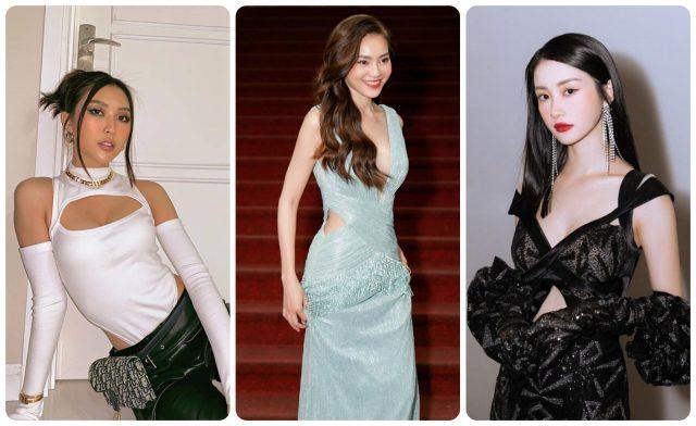 Khi loạt sao Việt trên đường đua thời trang với thiết kế cắt xẻ khoe vóc dáng quyến rũ