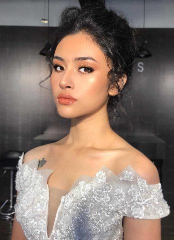 Makeup tone Tây cho cô dâu