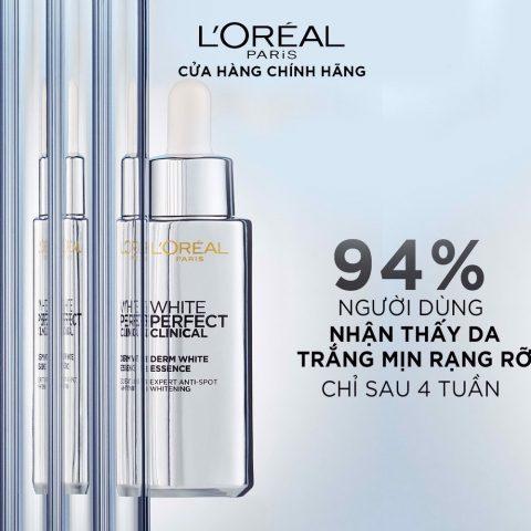 Serum trị thâm, đều màu da L'Oréal Paris White Perfect Clinical Derm White Essence 60ml