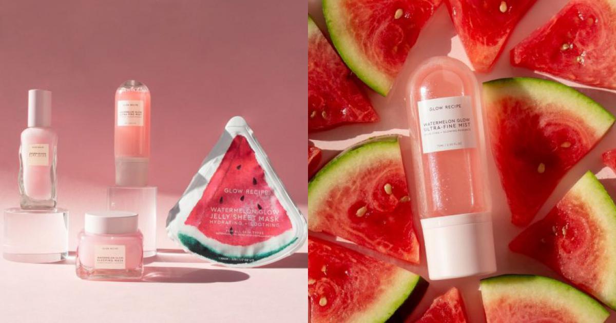 sản phẩm chăm sóc da Glow Recipe Watermelon Glow Ultra-Fine Mist