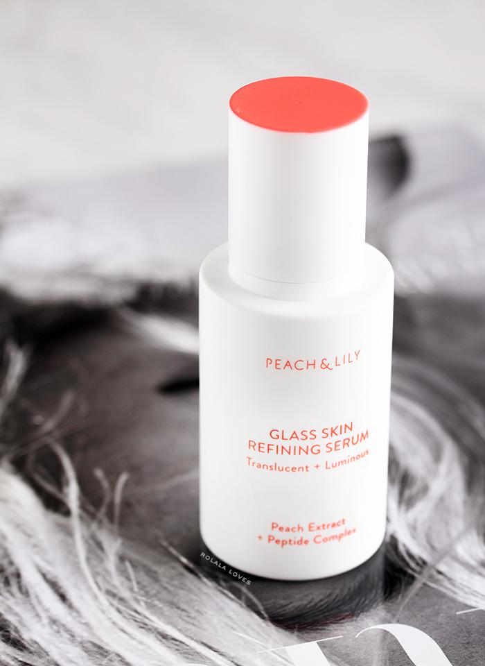 sản phẩm chăm sóc da Peach and Lily Glass Skin Serum