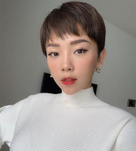 Tóc ngắn tomboy Hàn Quốc