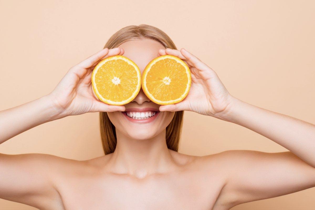 cải thiện cấu trúc da nhờ vitamin C