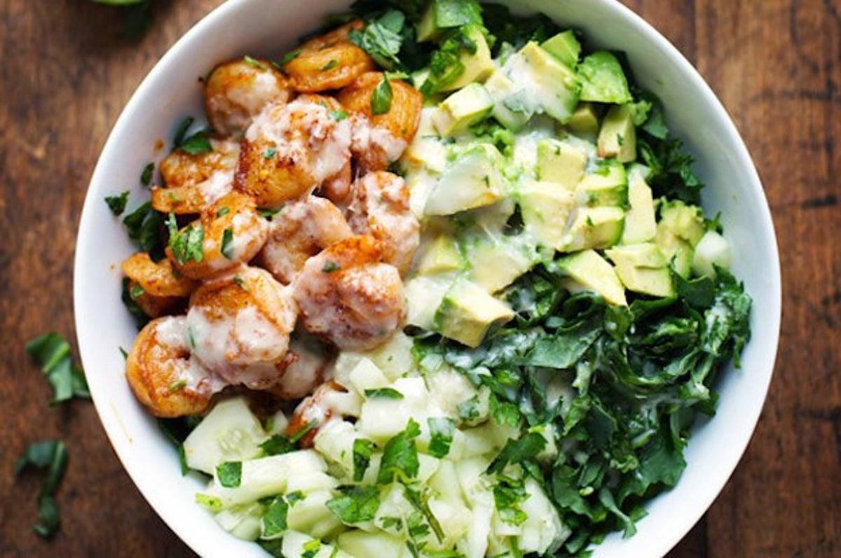 Món salad bằng bơ - món ăn giảm cân làm từ bơ