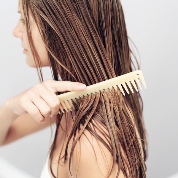 mái tóc dài, mượt và chắc khỏe
