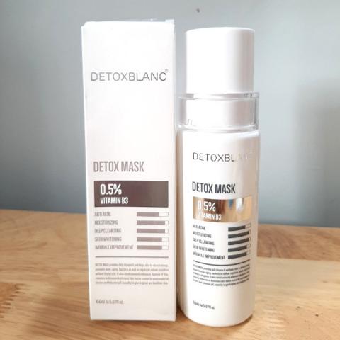 mặt nạ sủi bọt thải độc Detox Blanc
