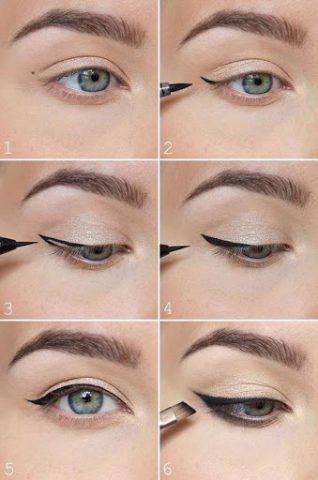 kẻ mắt eyeliner đơn giản cho người mới