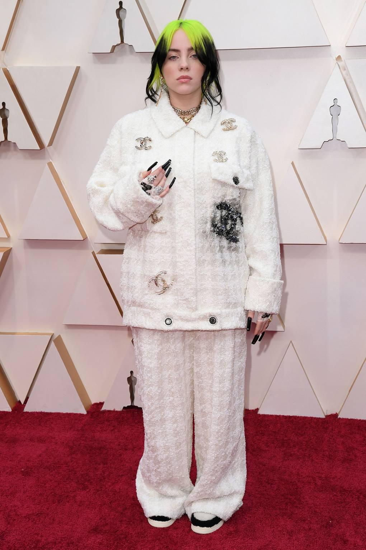 Kiểu Tóc Đẹp của Billie Eilish - Oscars 2020