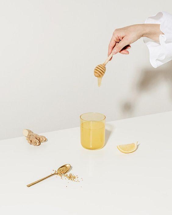 uống mật ong trước khi ngủ giảm cân với chanh