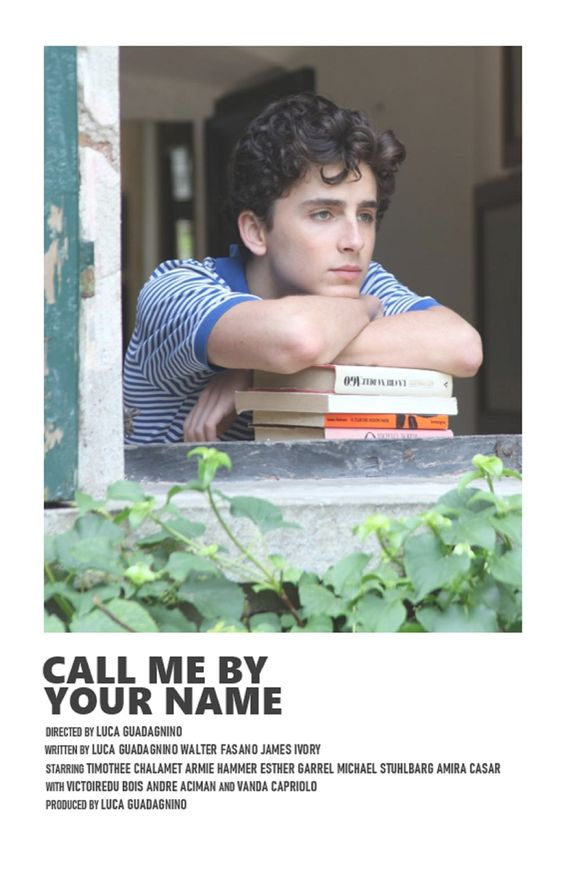Phim Call me by your name